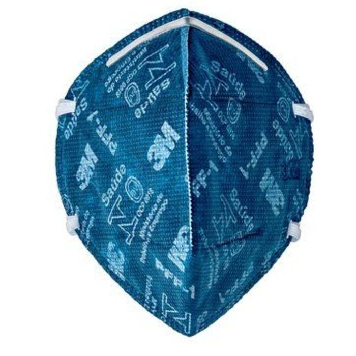 Máscara Respirador Semifacial Azul - 3M