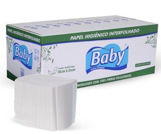 PAPEL HIGIÊNICO CAI CAI FOLHA SIMPLES COM 10000 - BABY