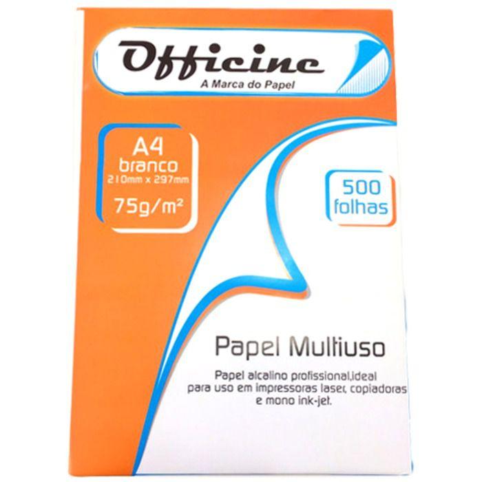Papel Sulfite A4 Branco com 500 Folhas Executive - Officine