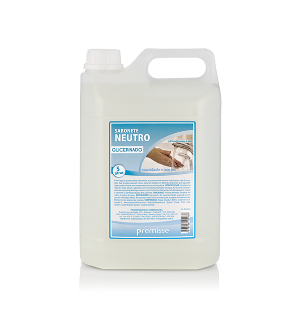 Sabonete Líquido Neutro Glicerinado 5 Litros - Premisse