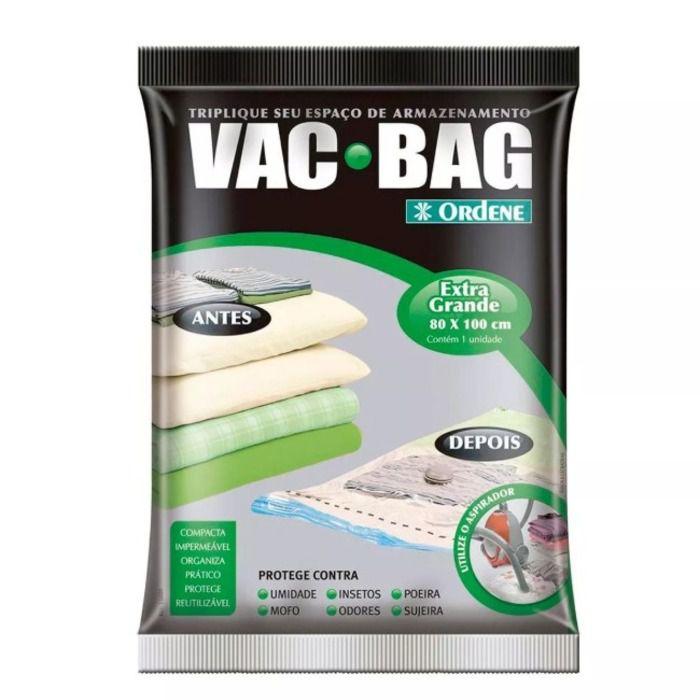 Saco À Vácuo Vac Bag Extra Grande 80x100CM - Ordene