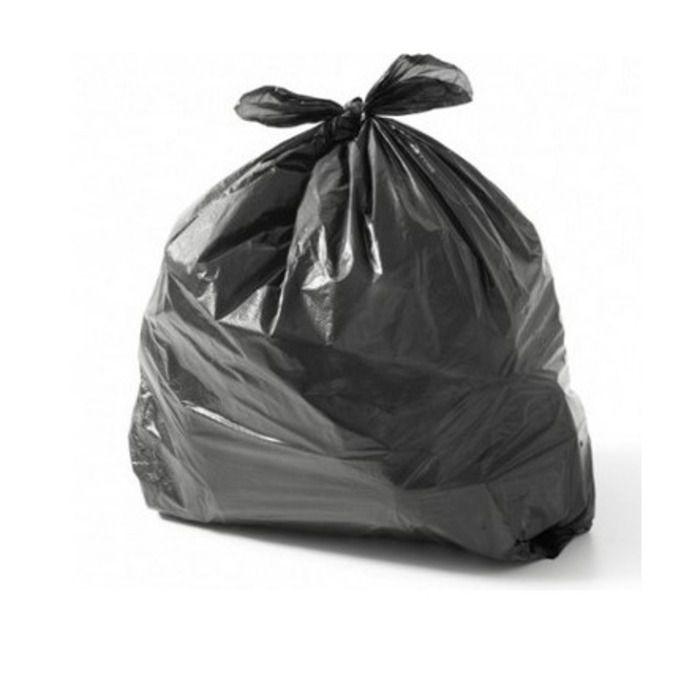 Saco Para Lixo 20L Reforçado Com 100 Unidades Preto