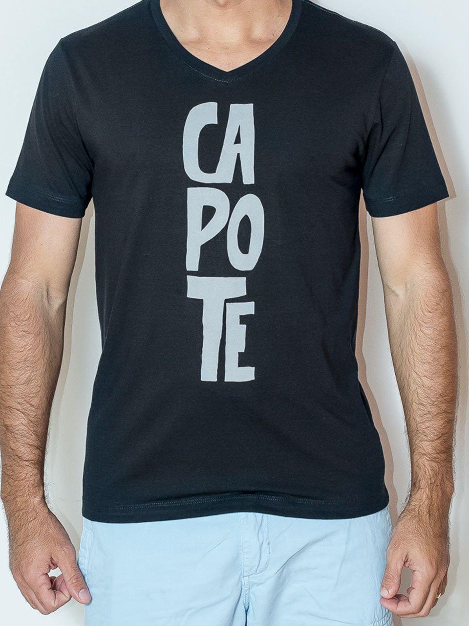 Camiseta Algodão egipcio CAPOTE Gola V