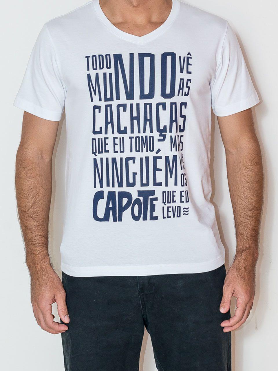 Camiseta Algodão egipcio/ecofriendly MUNDO CAPOTE