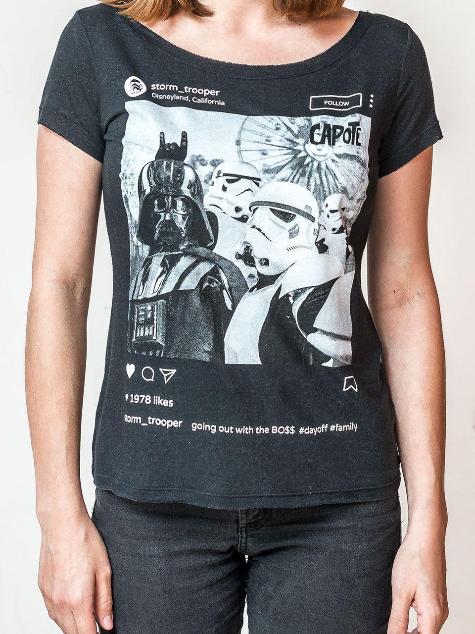Camiseta Capote Darth Vader
