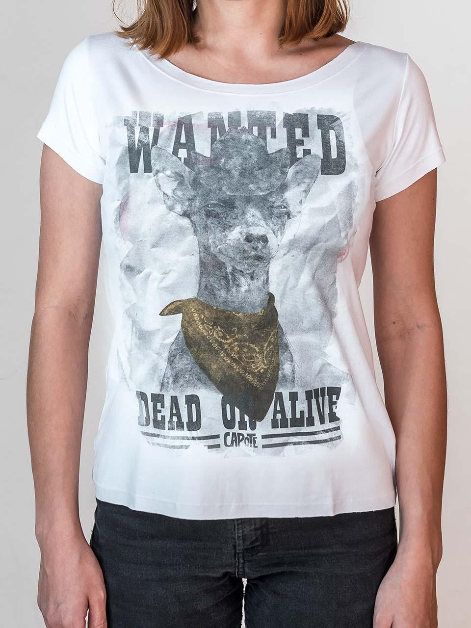 Camiseta Capote Wanted
