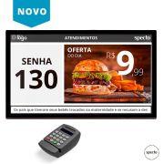 CHAMADOR DE COMANDA NA TV (COM TECLADO) - CHAPED TV (LOCAÇÃO)