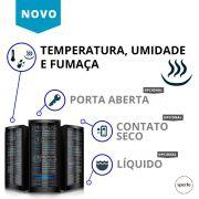 DataFaz ® UNITY WIRELESS - Temperatura, Umidade e Fumaça (Locação)
