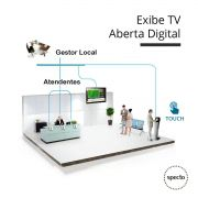 QUALPROX® UNITY Painel TV Digital com TES Touch