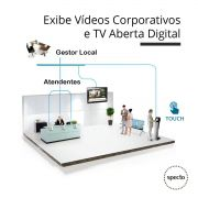 QUALPROX® UNITY TV Digital + Corporativa com TES Touch