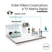 QUALPROX® UNITY TV Digital + Corporativa com TES Touch