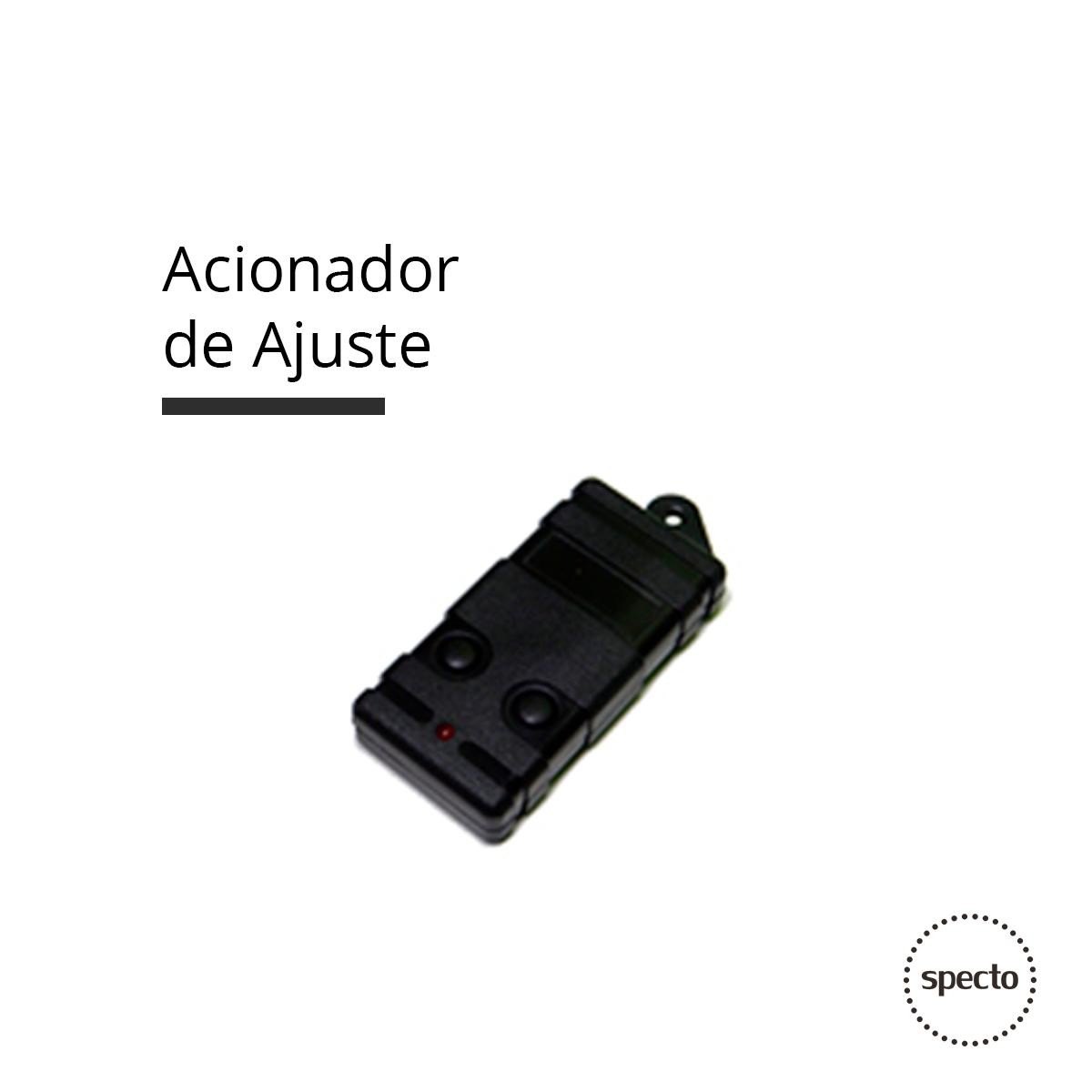 Acionador de Ajuste via RF (Controle Remoto)  -  Specto Tecnologia