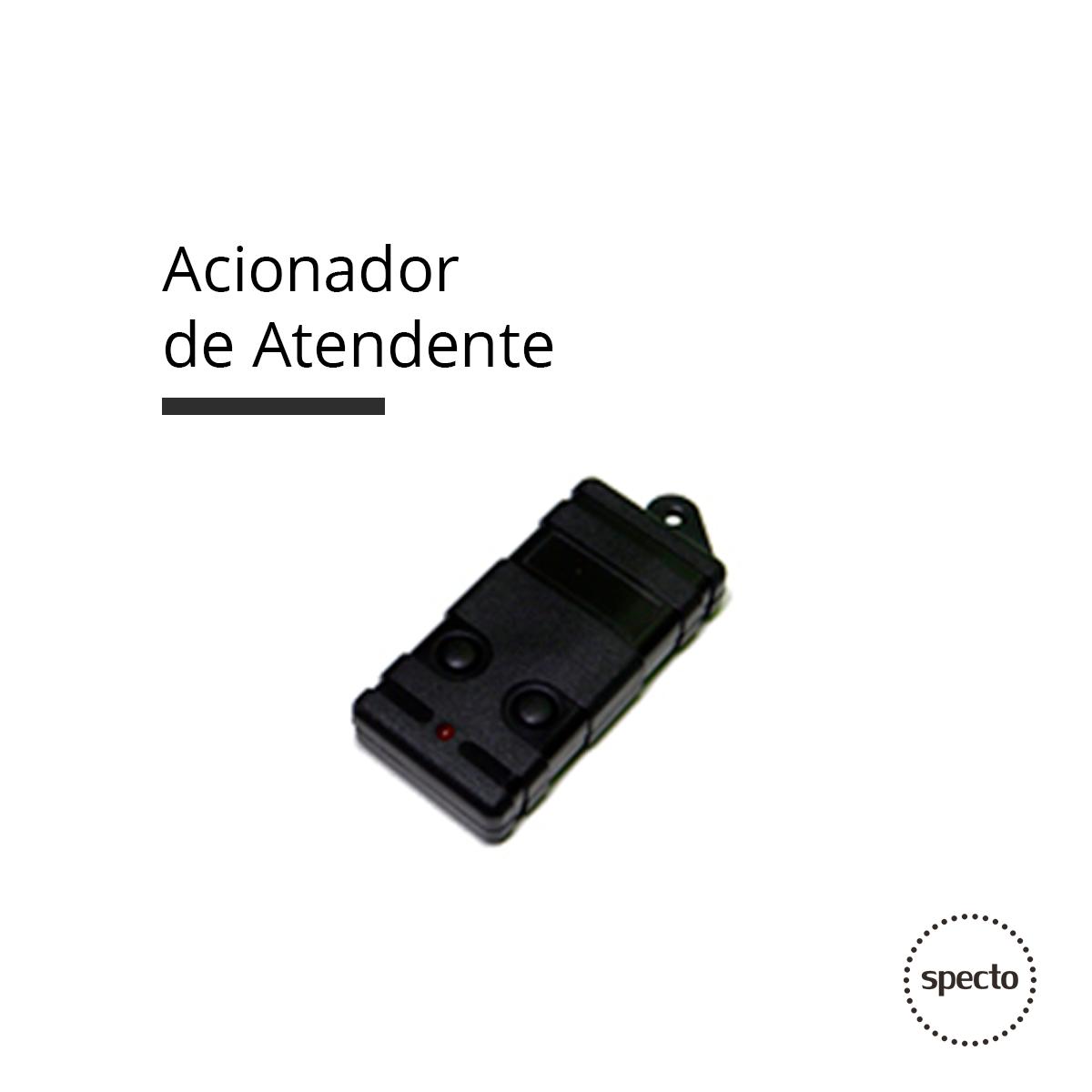Acionador de Atendente via RF (Controle Remoto)  -  Specto Tecnologia