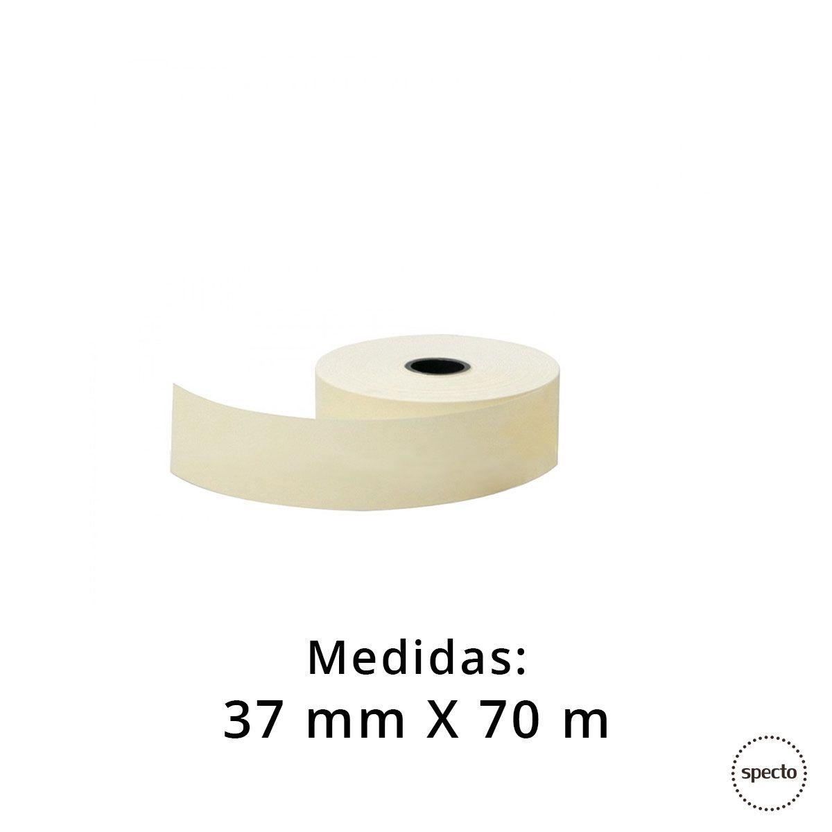 Bobina Térmica 37 mm x 70 m  -  Specto Tecnologia