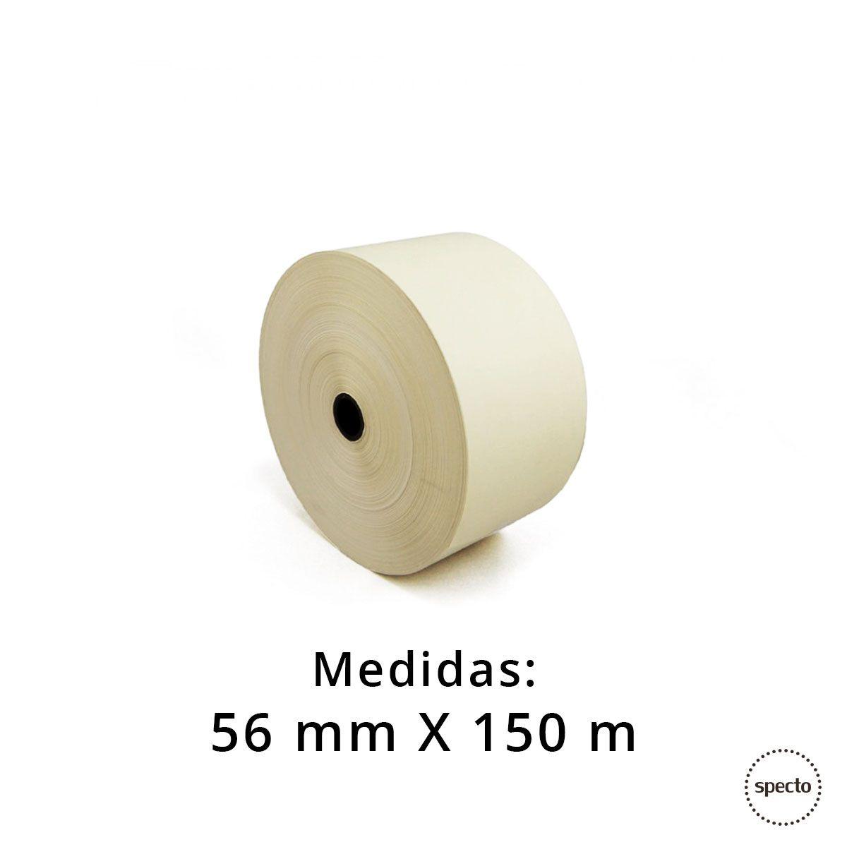 Bobina Térmica 56 mm x 150 m  -  Specto Tecnologia