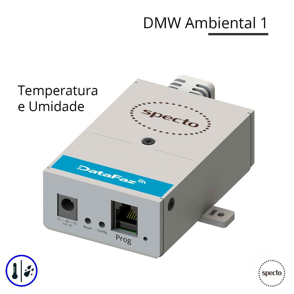 DataFaz ® UNITY WIRELESS - Temperatura e Umidade (Locação)  -  Specto Tecnologia