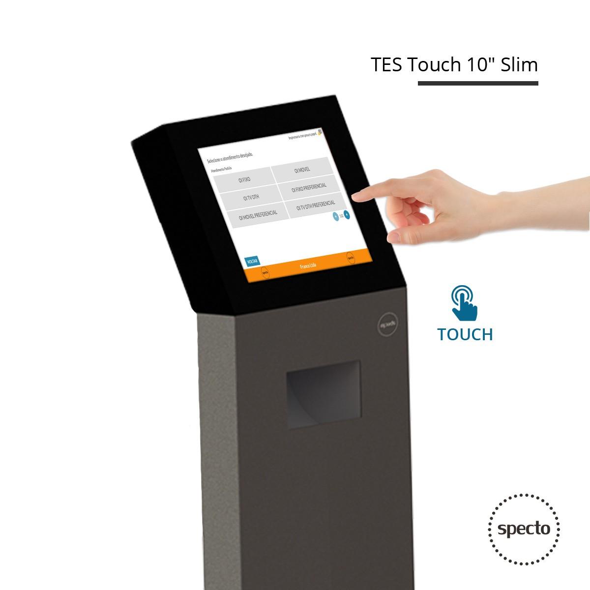 QUALPROX® UNITY TV Digital + Corporativa com TES Touch  -  Specto Tecnologia