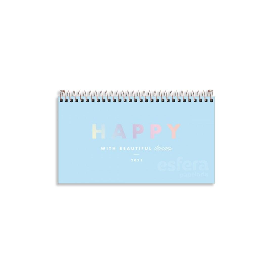 AGENDA ESPIRAL DE BOLSO HAPPY M2 314226 TILIBRA