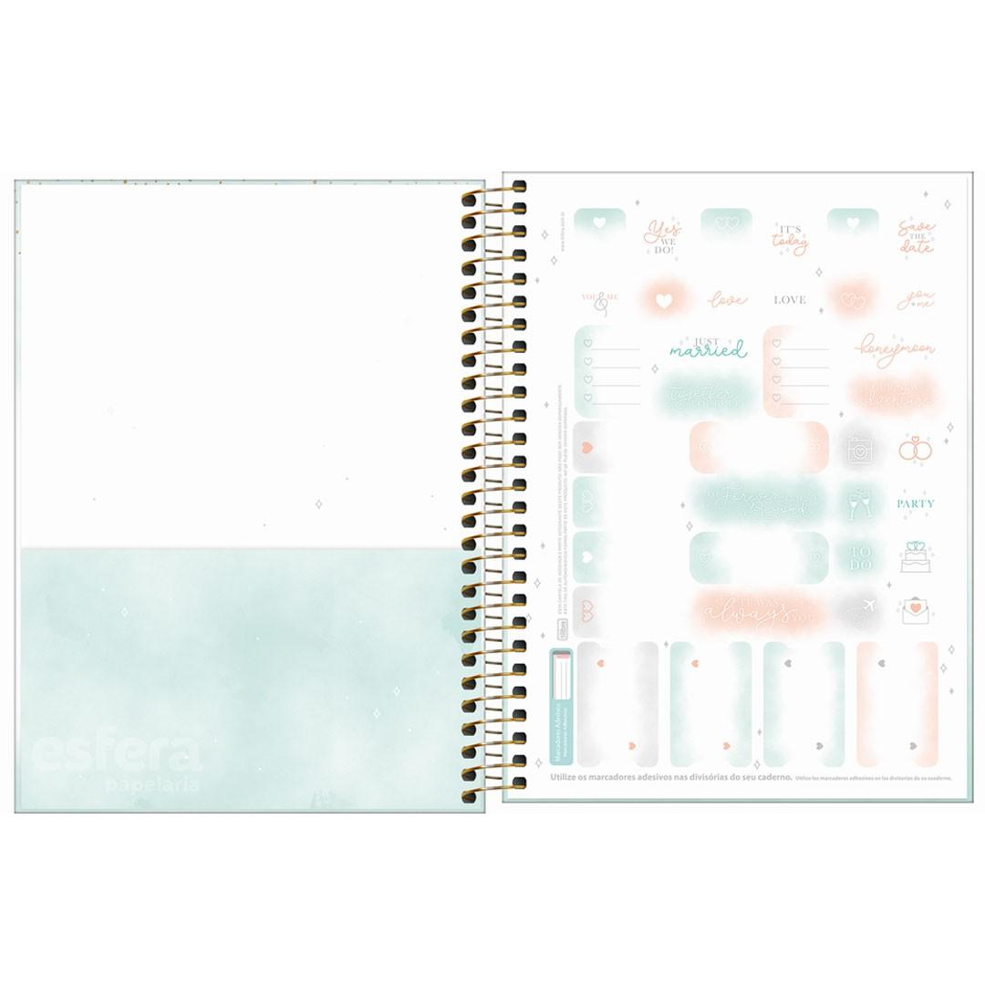 AGENDA ESPIRAL PLANNER WEDDING M7 292389 TILIBRA