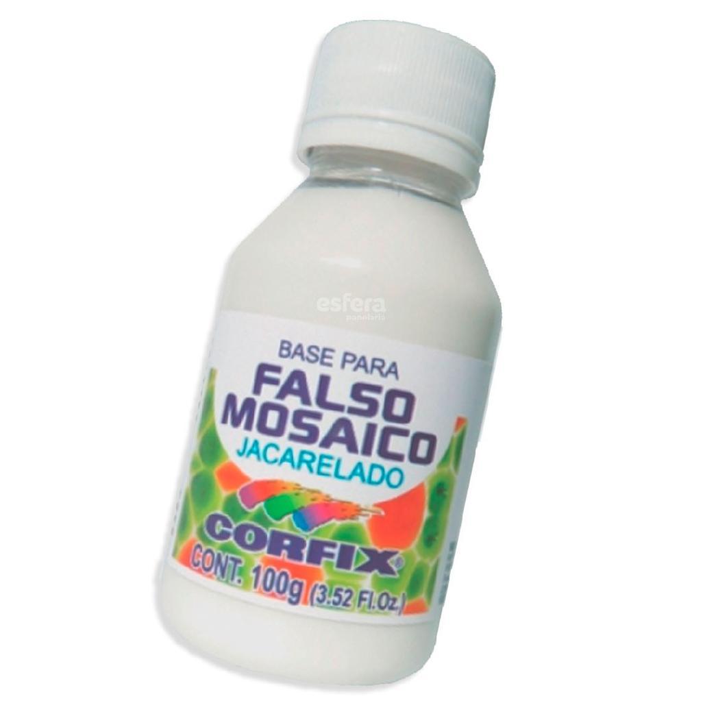 BASE PARA FALSO MOSAICO JACARELADO 100G CORFIX