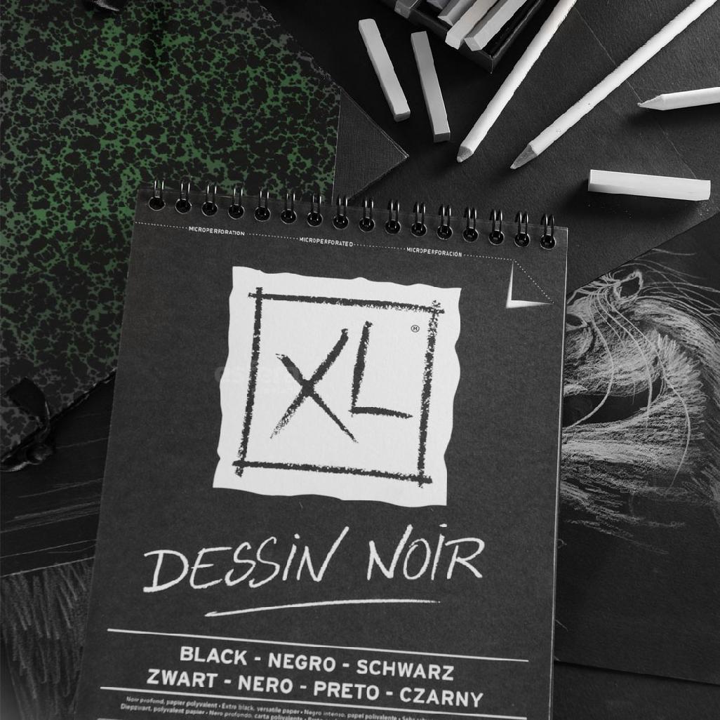 BLOCO XL DESSIN NOIR 150GM2 CANSON