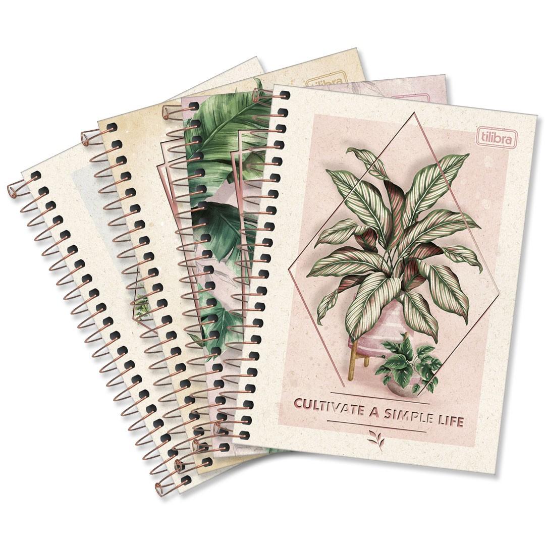 CADERNETA ESP CD 1/8 NATURALIS 80FLS 292257 TILIBRA