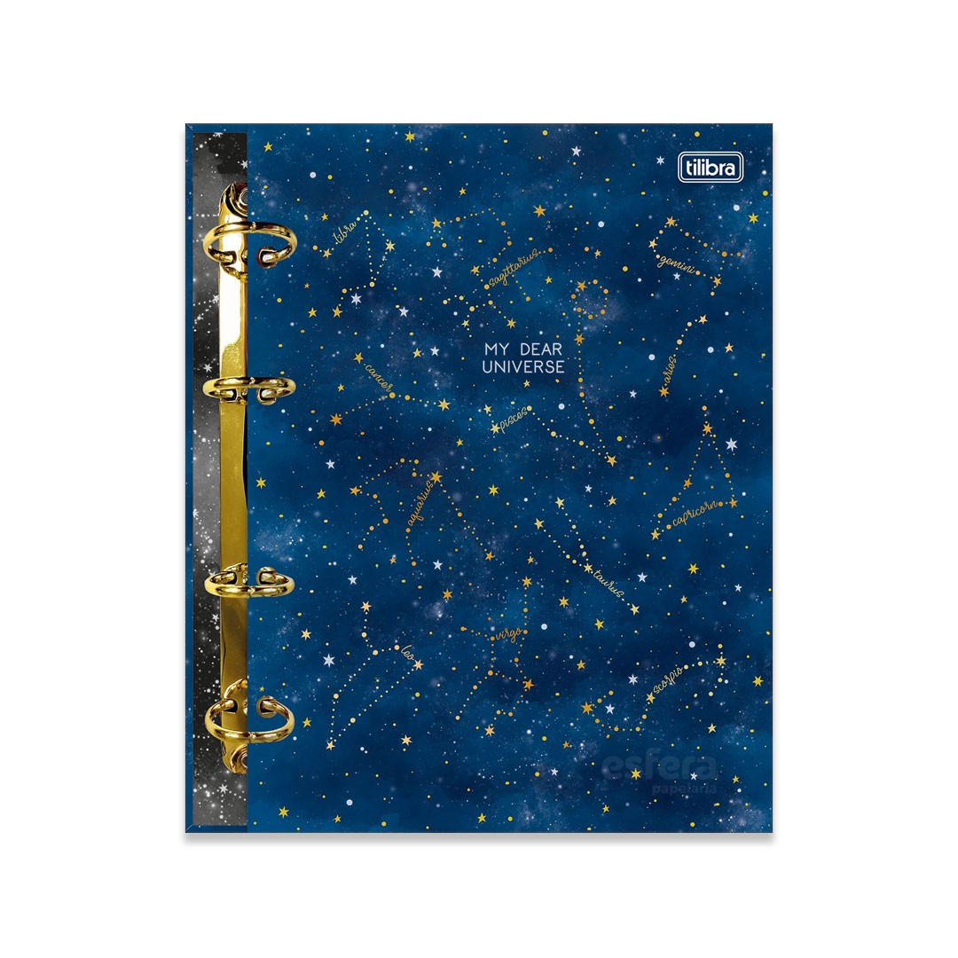 CADERNO ARGOLADO COLEGIAL MAGIC 313408 TILIBRA