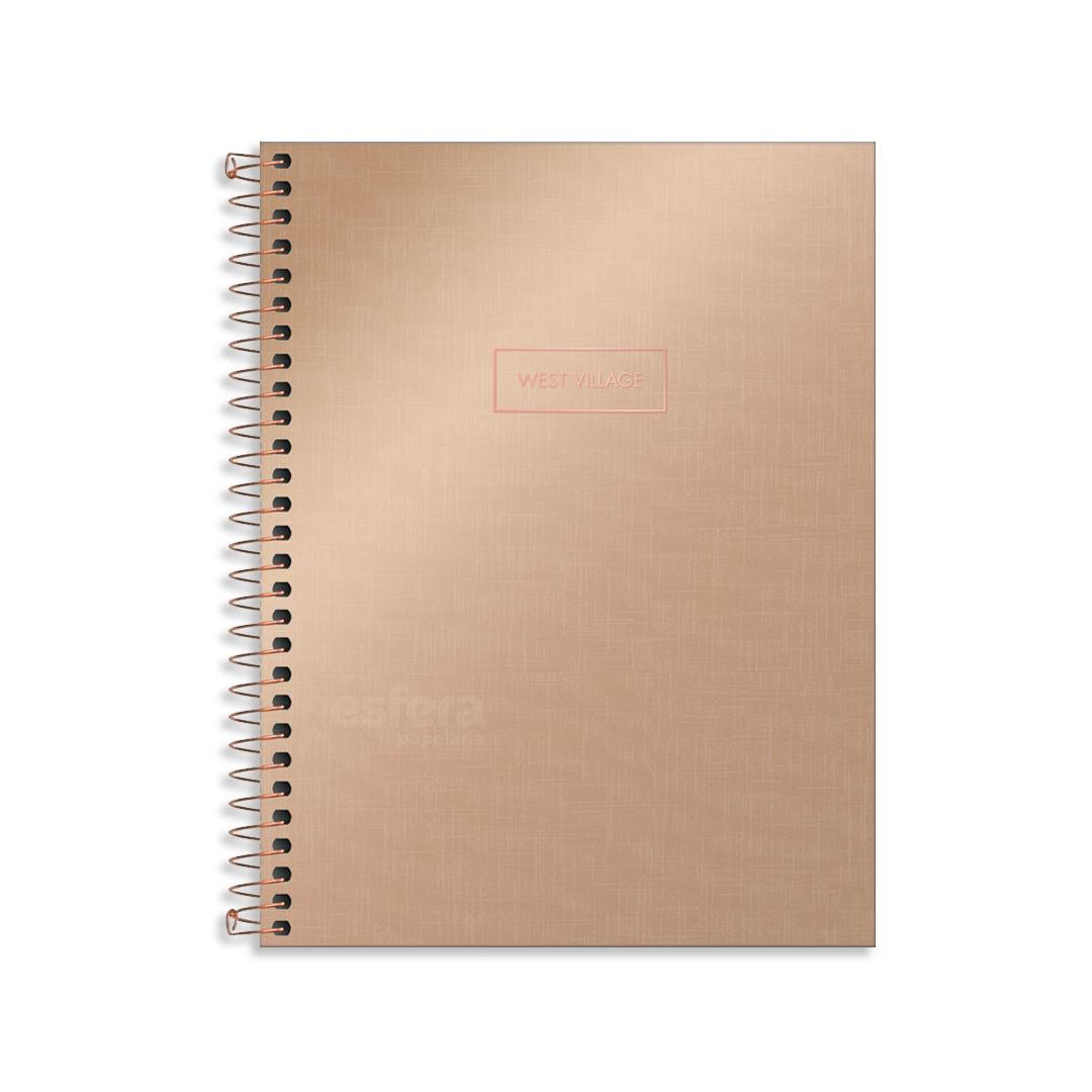 CADERNO CD COLEG WEST VILLAGE METAL 1M 80F 229750 TILIBRA