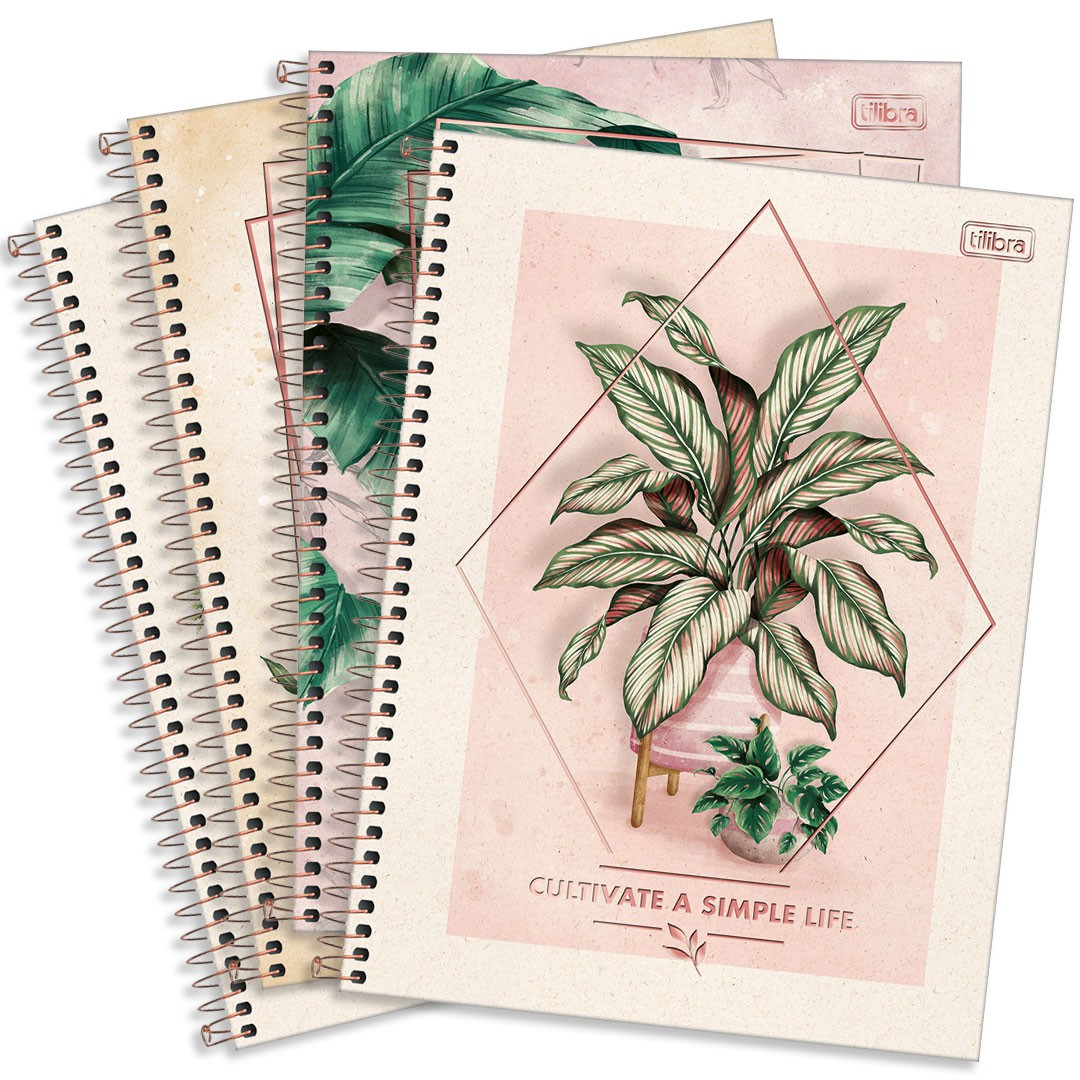 CADERNO CD UNIVERSITARIO NATURALIS 1M 80FLS 291455 TILIBRA