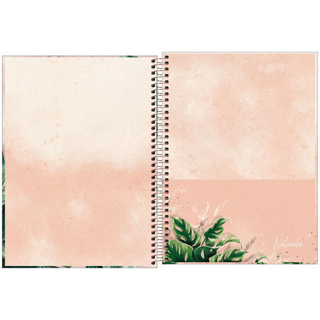 CADERNO CD UNIVERSITARIO NATURALIS 1M 80FLS 291455 TILIBRA