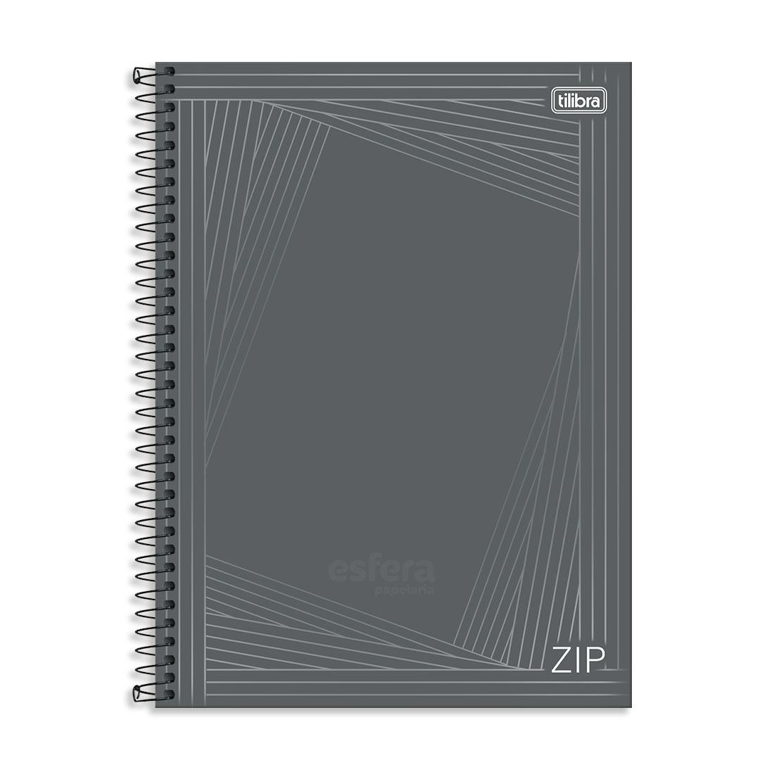 CADERNO CD UNIVERSITARIO QUADRICULADO 0.5 ZIP 80FLS 236047 TILIBRA