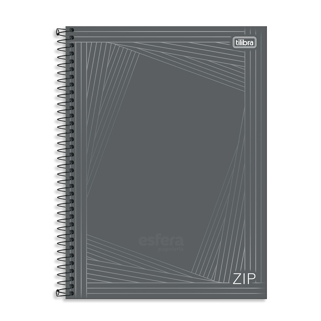 CADERNO CD UNIVERSITARIO ZIP 1M 80FLS TILIBRA