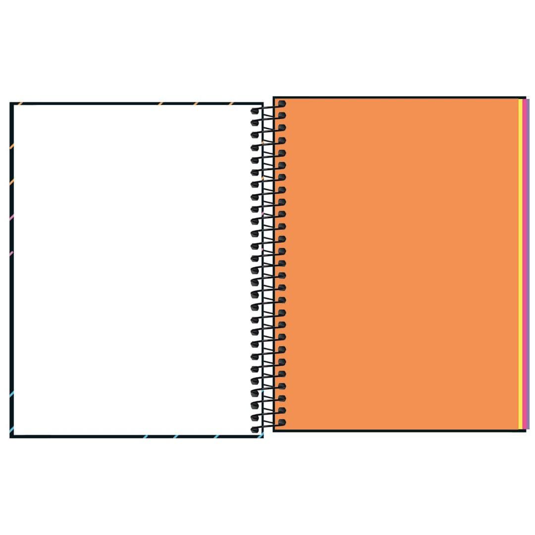 CADERNO COLEGIAL NEON KORI 1M 80F 310255 TILIBRA
