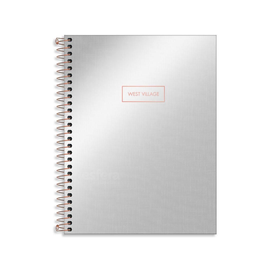 CADERNO COLEGIAL WEST VILLAGE METAL 10M 160FLS 235598 TILIBRA