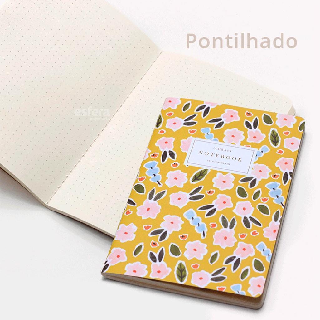 CADERNO COSTURADO PRIMAVERA ROMANTICA A.CRAFT