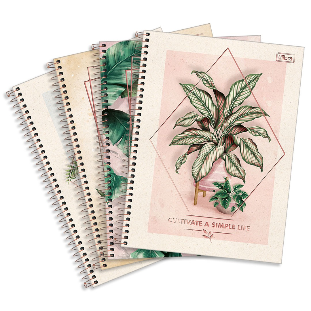 CADERNO ESP CD 1/4 NATURALIS 80FLS 292249 TILIBRA