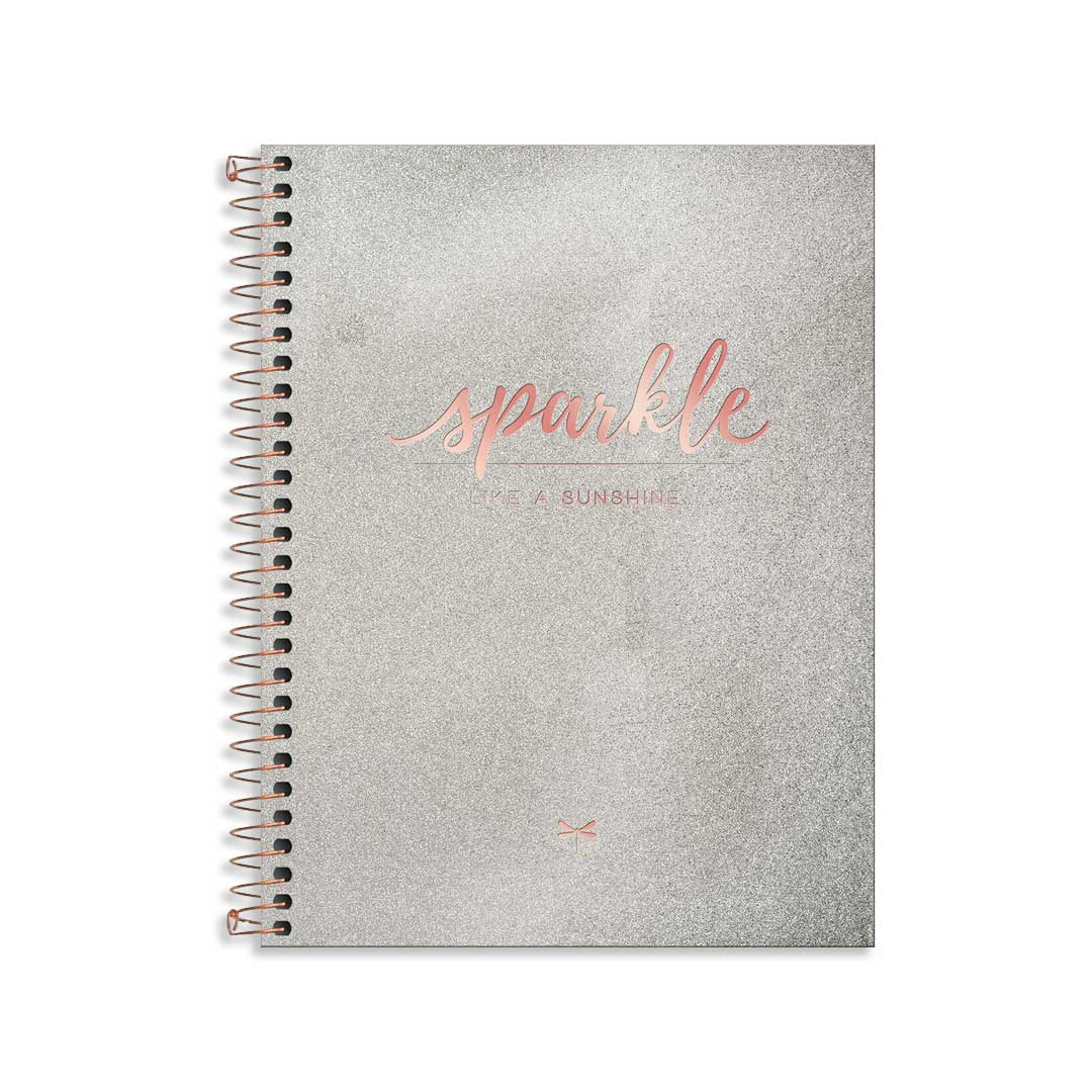 CADERNO EXECUTIVO COLEGIAL CAMBRIDGE SHINE 80 FOLHAS 311430 TILIBRA