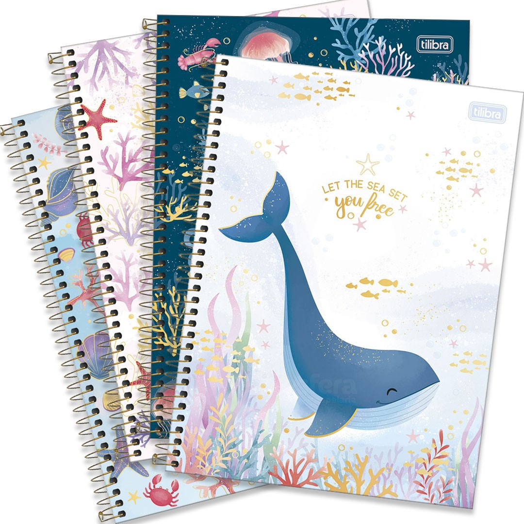 CADERNO UNIVERSITARIO BUBBLE 10M 160F 310611 TILIBRA