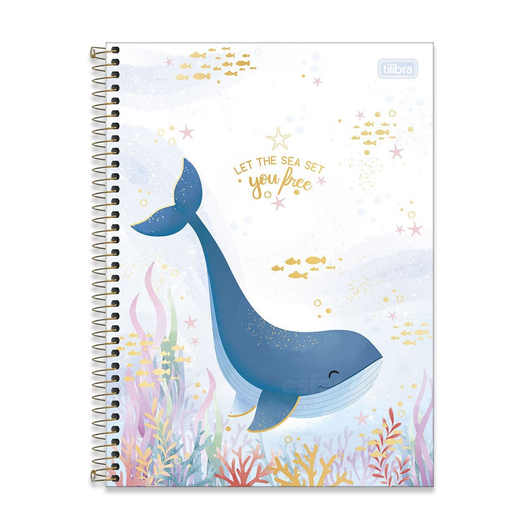 CADERNO UNIVERSITARIO BUBBLE 1M 80F 310603 TILIBRA