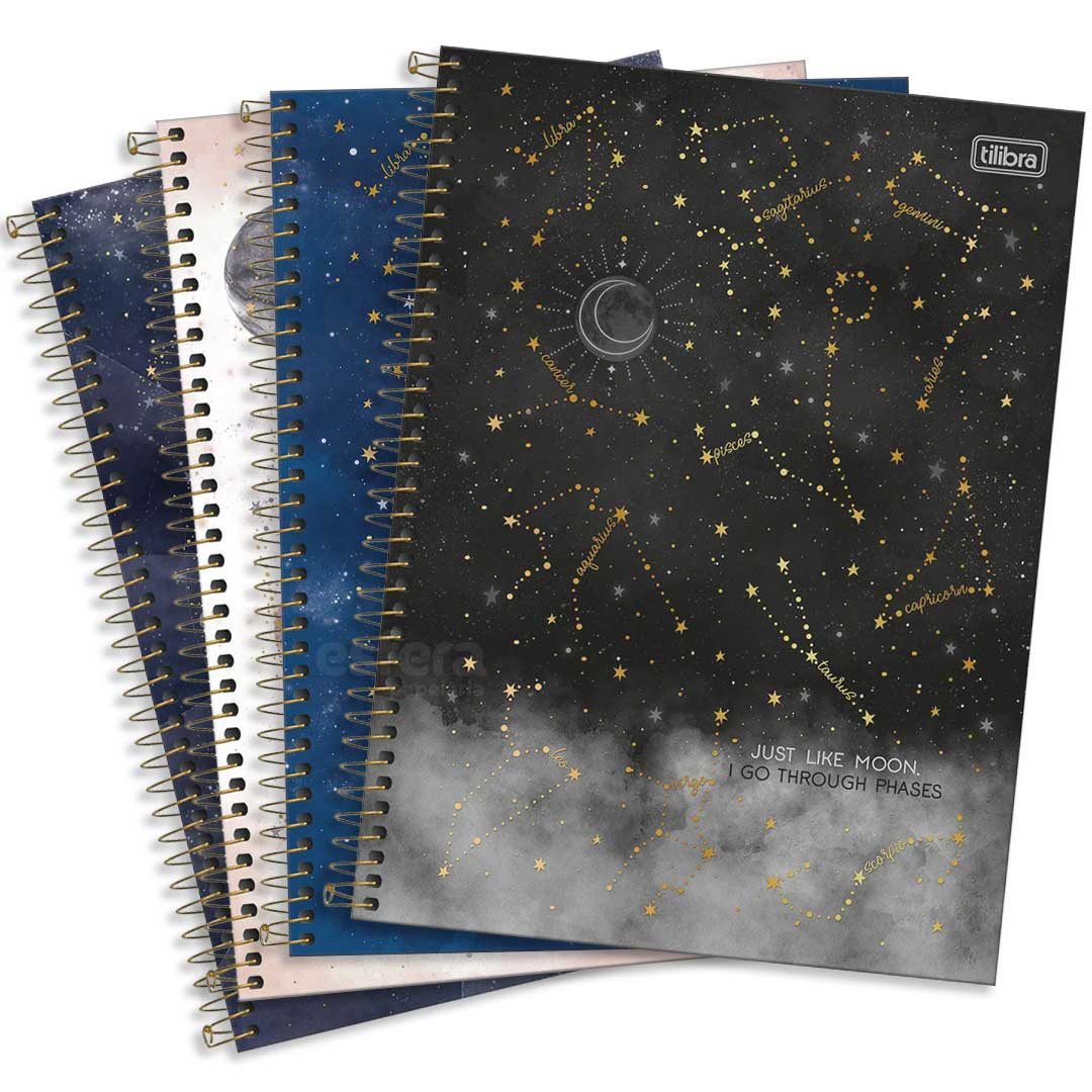 CADERNO UNIVERSITARIO MAGIC 10 MATERIAS 160 FOLHAS 294357 TILIBRA