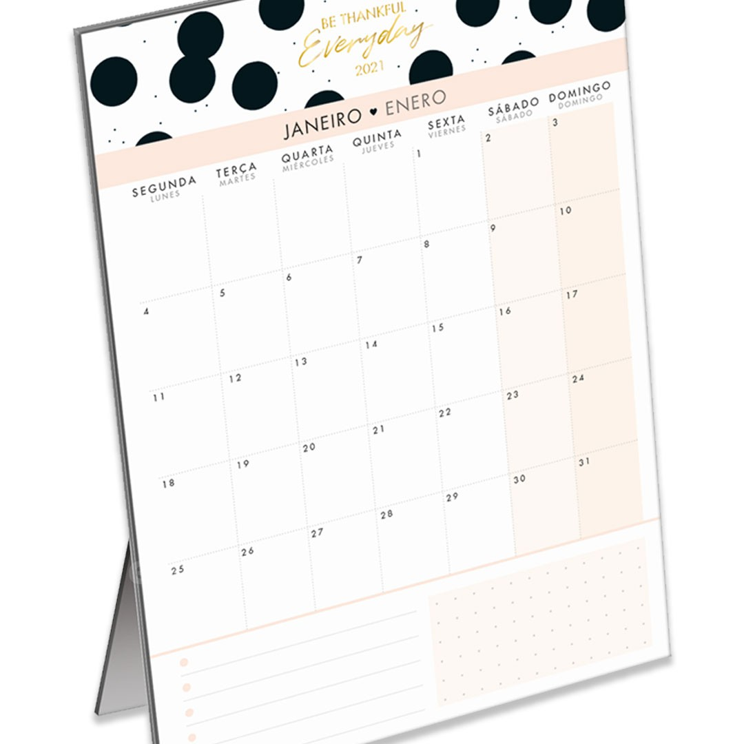 CALENDARIO PLANNER MESA WEST VILLAGE 291226 TILIBRA