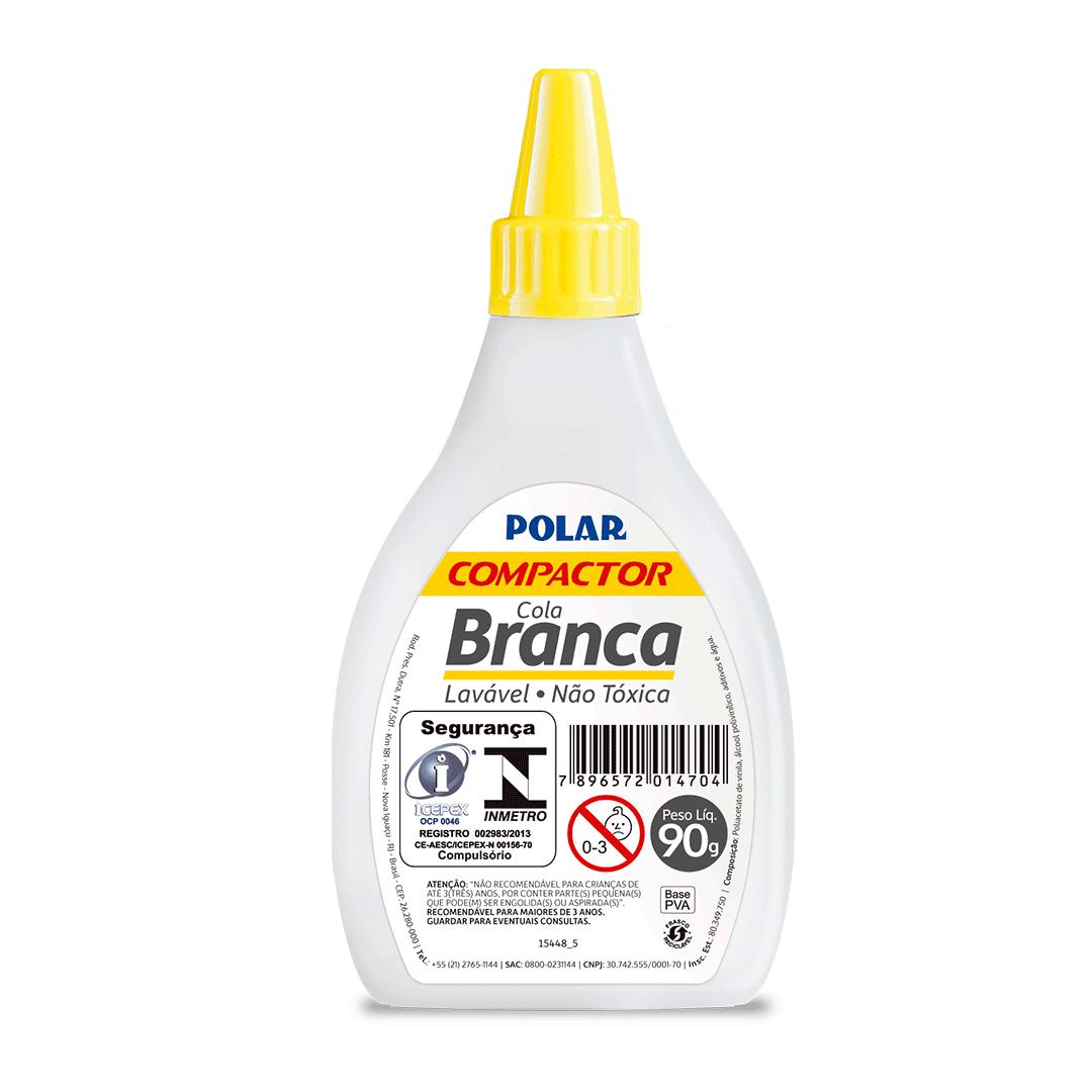 COLA BRANCA POLAR 90G COMPACTOR