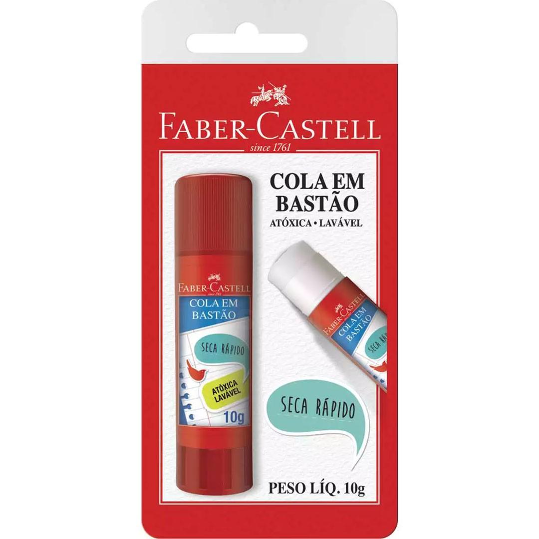 COLA EM BASTAO TUBO COM 21G FABER-CASTELL