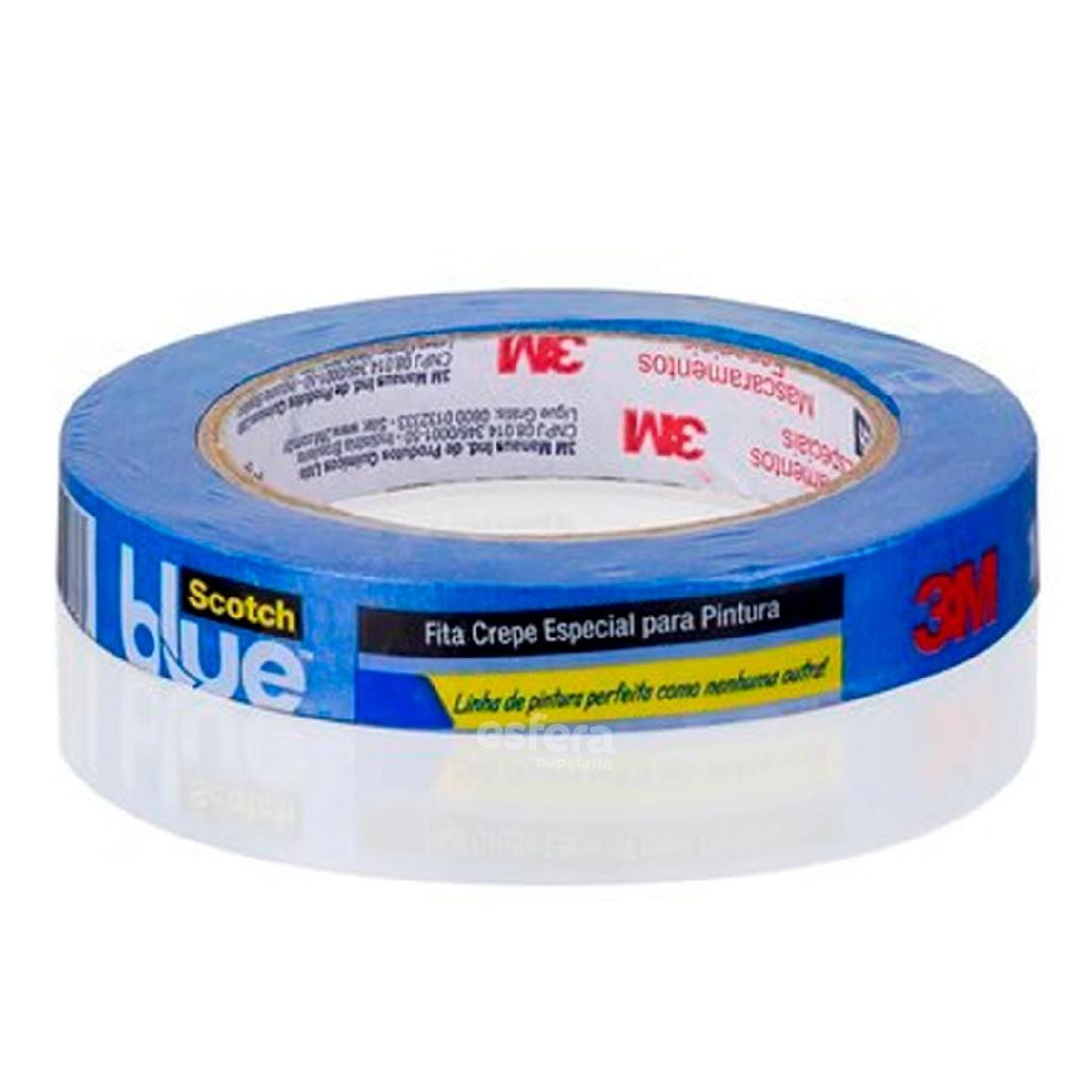FITA CREPE BLUE TAPE 18MMX50M 2090-EP SCOTCH H0002317784 3M