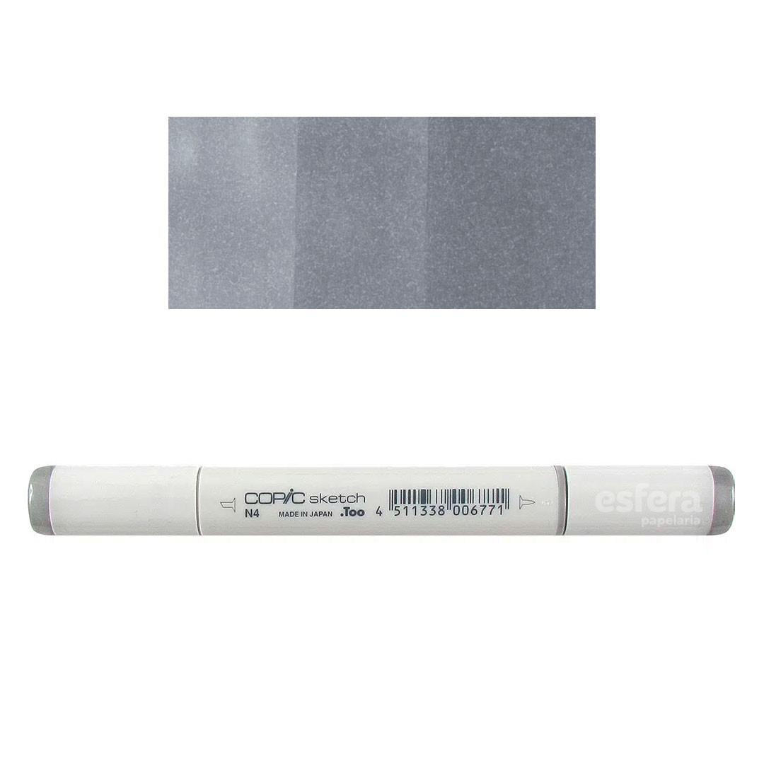 KIT COPIC SKETCH 6 CORES SKETCHING GRAYS