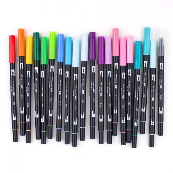MARCADOR DUAL BRUSH TOMBOW