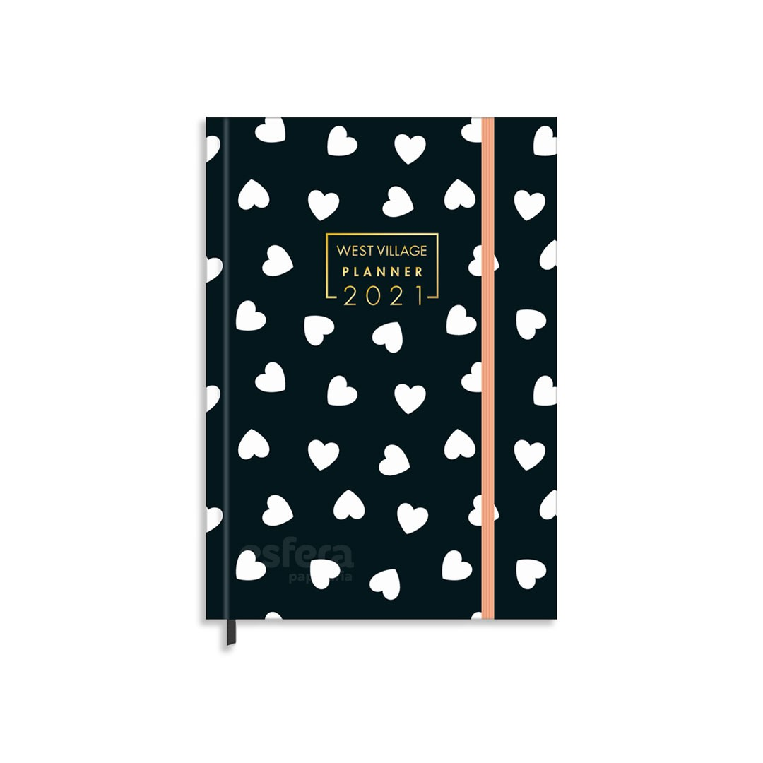 PLANNER COSTURADO WEST VILLAGE M5 179817 TILIBRA