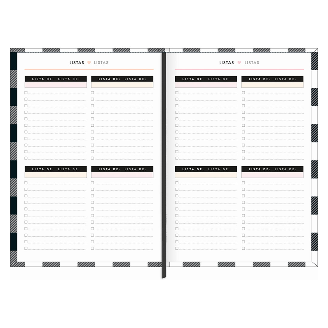PLANNER COSTURADO WEST VILLAGE M5 TILIBRA