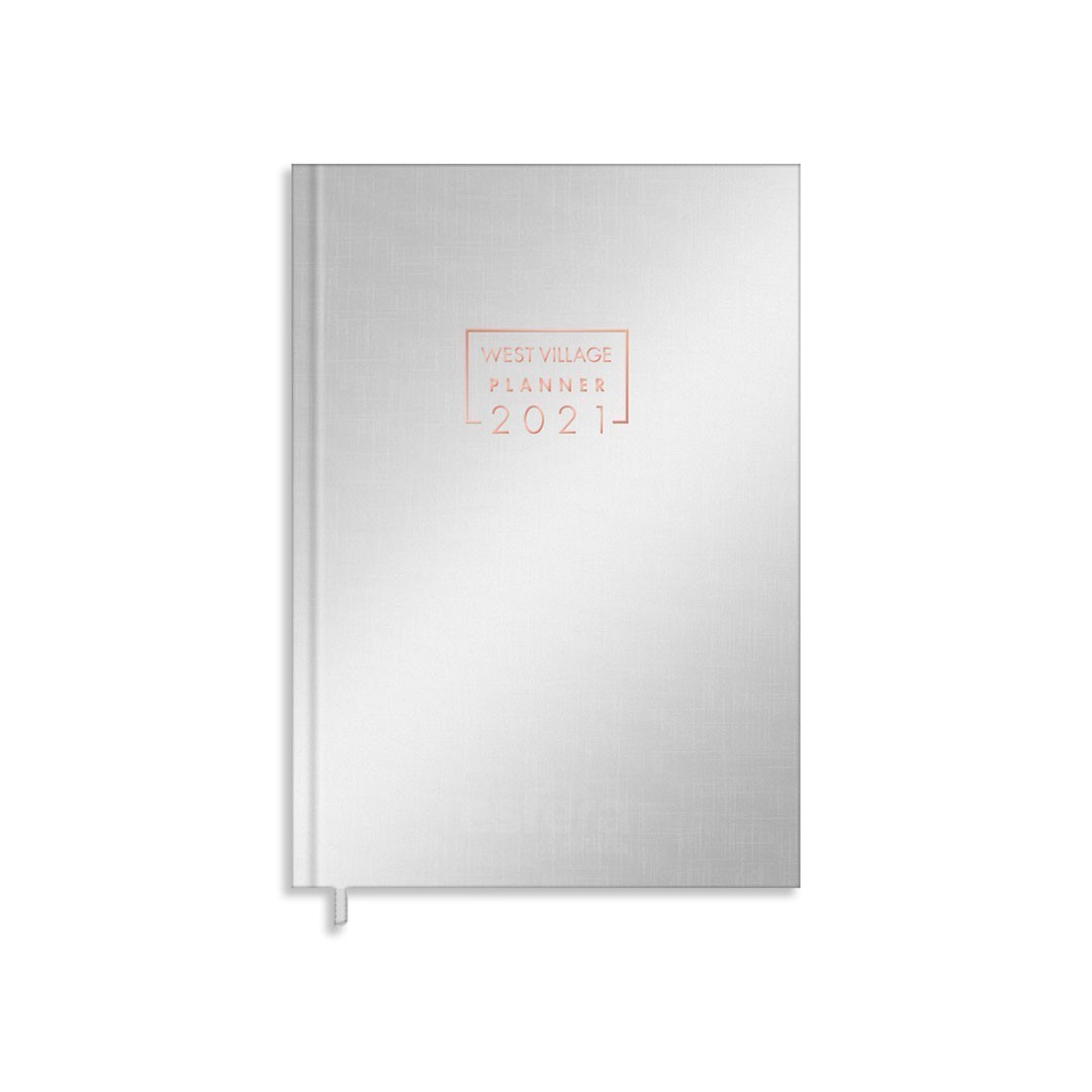 PLANNER COSTURADO WEST VILLAGE METAL M5 TILIBRA