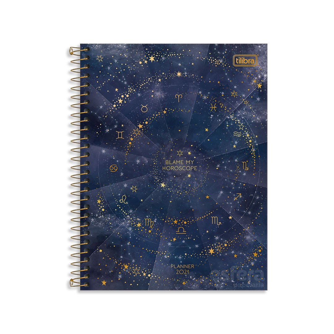 PLANNER ESPIRAL MAGIC M7 304387 TILIBRA
